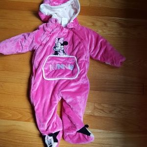 Baby girls snow suit